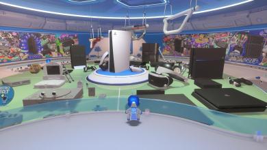 Photo de Test Astro's Playroom sur PS5
