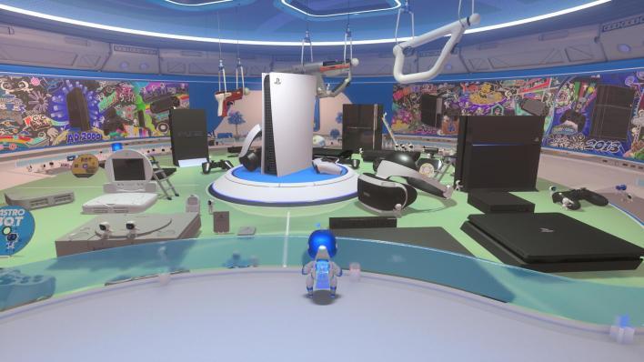 Astro's playroom Labo