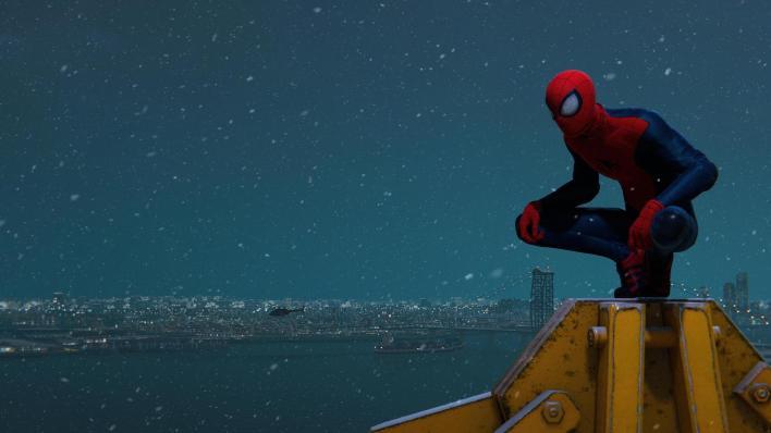 Spider-Man PS5 mode Photo