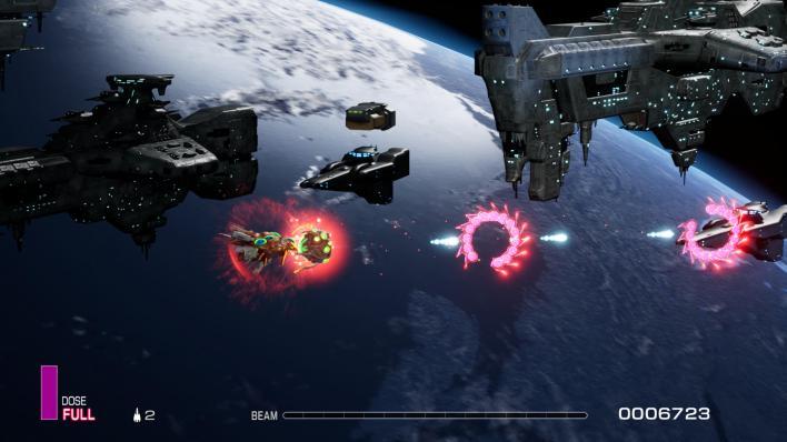 R-TYPE FINAL 2 mission espace