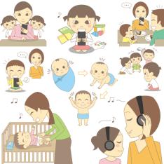 主婦の友社「スマホ育児に注意!親子のためのモーツァルトCDブック」