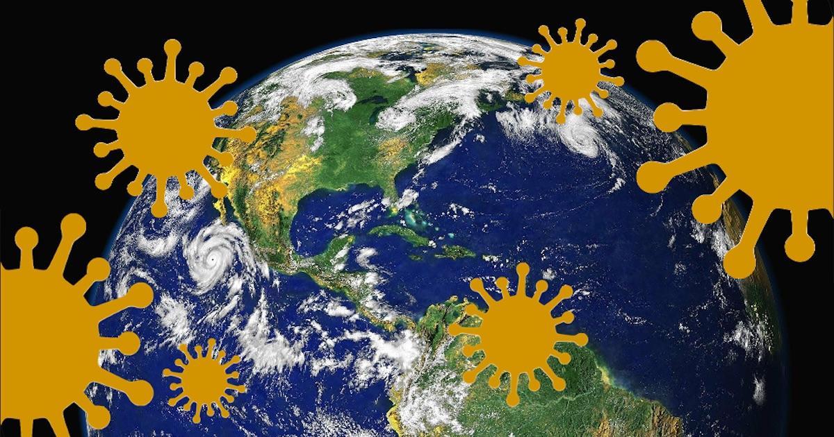 コロナウイルスと太陽と地球