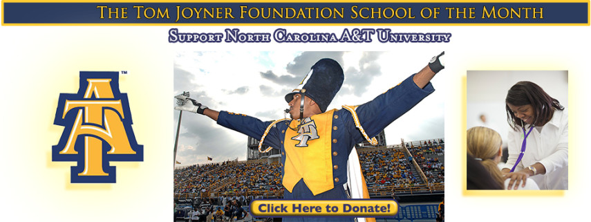 North Carolina A&T Featured as Tom Joyner Foundation's October School of the Month