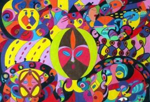 Rhythm and Flow by Caron Bowman