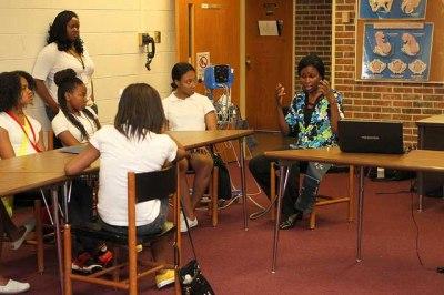 Nurse Ninke Odemuyiwa talks about blood pressure