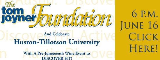 You're Invited! Join the Tom Joyner Foundation in support of Huston-Tillotson University.