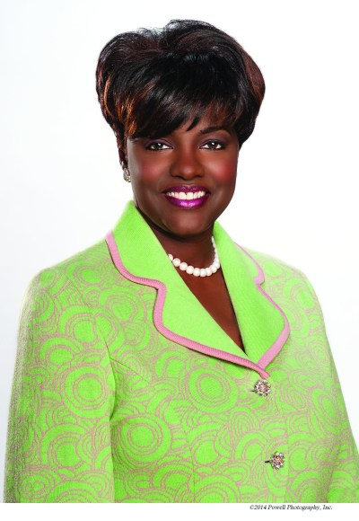 Dorothy Buckhanan Wilson, 2014-2018 International President of Alpha Kappa Alpha Sorority, Incorporated
