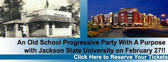 An Old School Progressive Party With A Purpose with Jackson State University