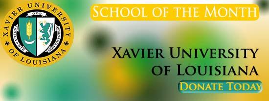 Xavier University of Louisiana named June School of the Month