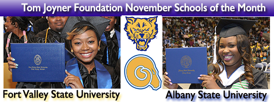 Albany State, Fort Valley State Named November Schools Of The Month