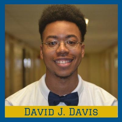David J. Davis of SUNO is Our Hercules Scholar of the Week