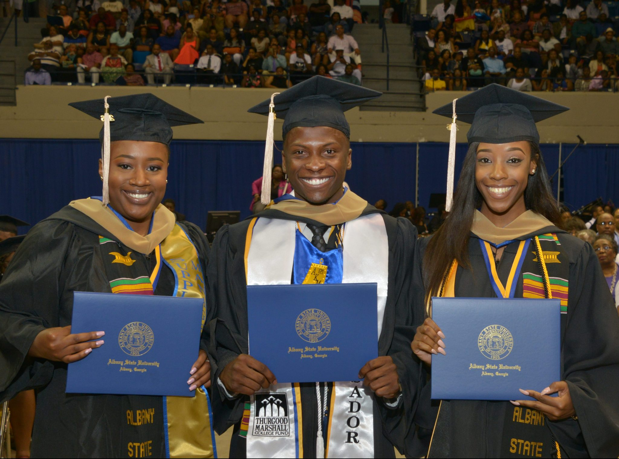 Albany State University 2017 Spring Commencement On May 6th
