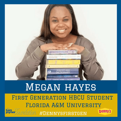 """My university is challenging me so that I can be great.""-Meet Megan Hayes, First Generation HBCU Student"