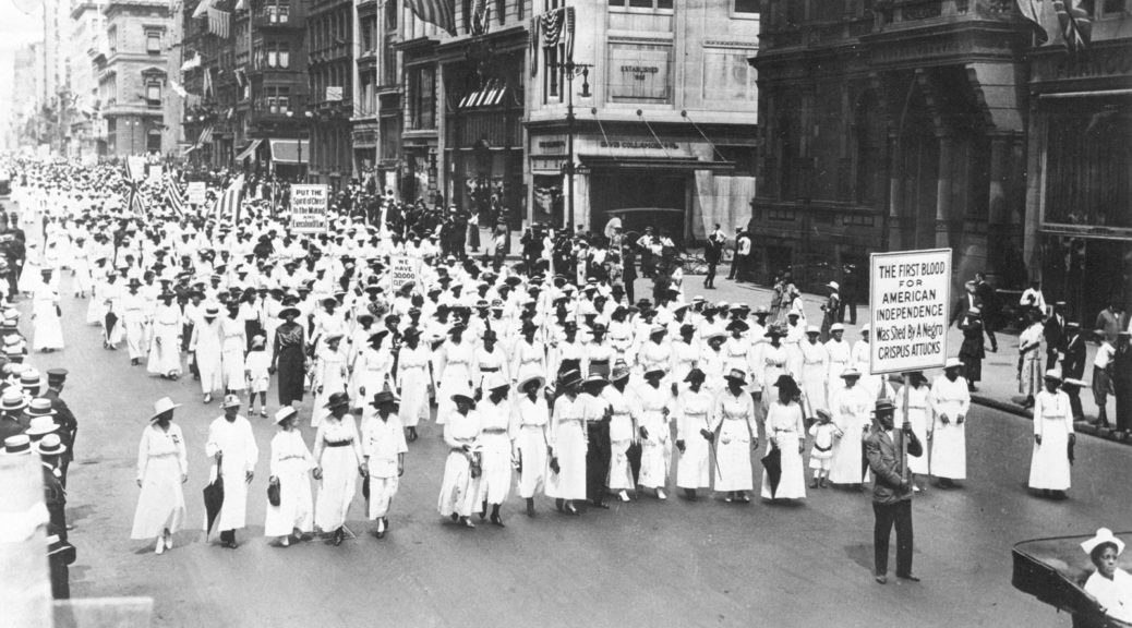 Today marks the anniversary of a silent protest parade in 1917 that set the stage for civil rights marches