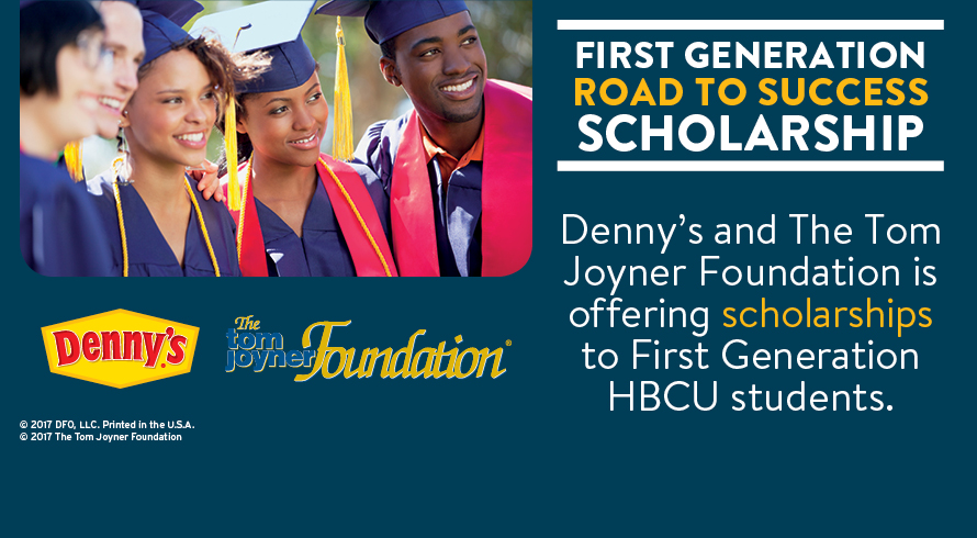 "Foundation, Denny's Launch the 2018 ""Hungry for Education"" Scholarship Program"