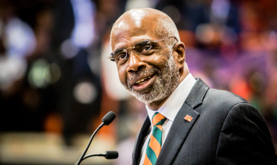 It's official: Larry Robinson named 12th president of FAMU