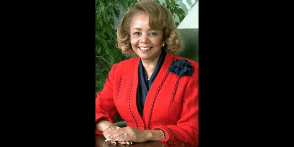 Dr. Marvalene Hughes, former President of Dillard University