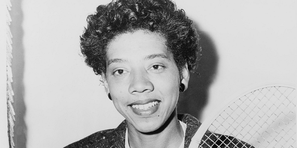 Althea Gibson, graduate of Florida A&M University; in 1956, she became the first black athlete to win the French Open, becoming the first person of color to win a Grand Slam title.