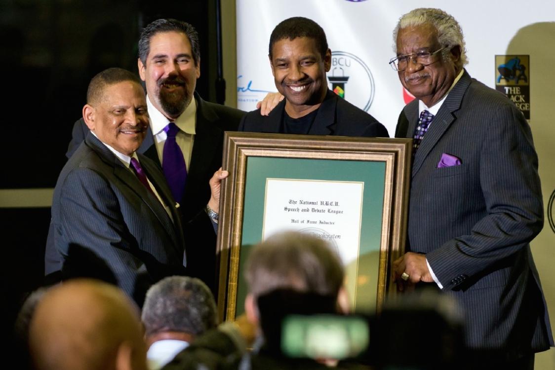Denzel Washington Renews $1 Million Gift to Wiley College to Fund Debate Program