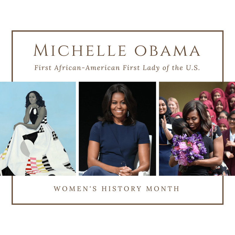 #TJFWHM18: First Lady Michelle Obama Makes U.S. History