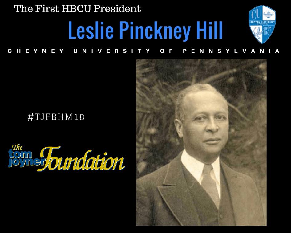 #TJFBHM18: Leslie Pinckney Hill, First President of America's First HBCU