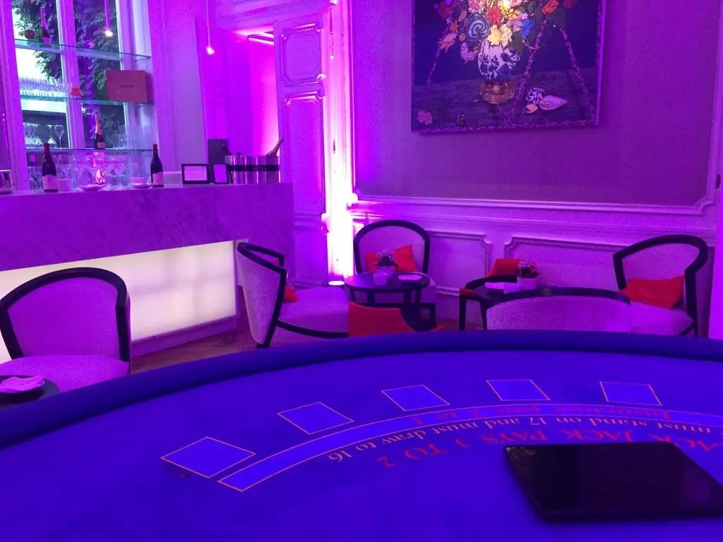 Magie iPad pour Clarance Hotel Lille