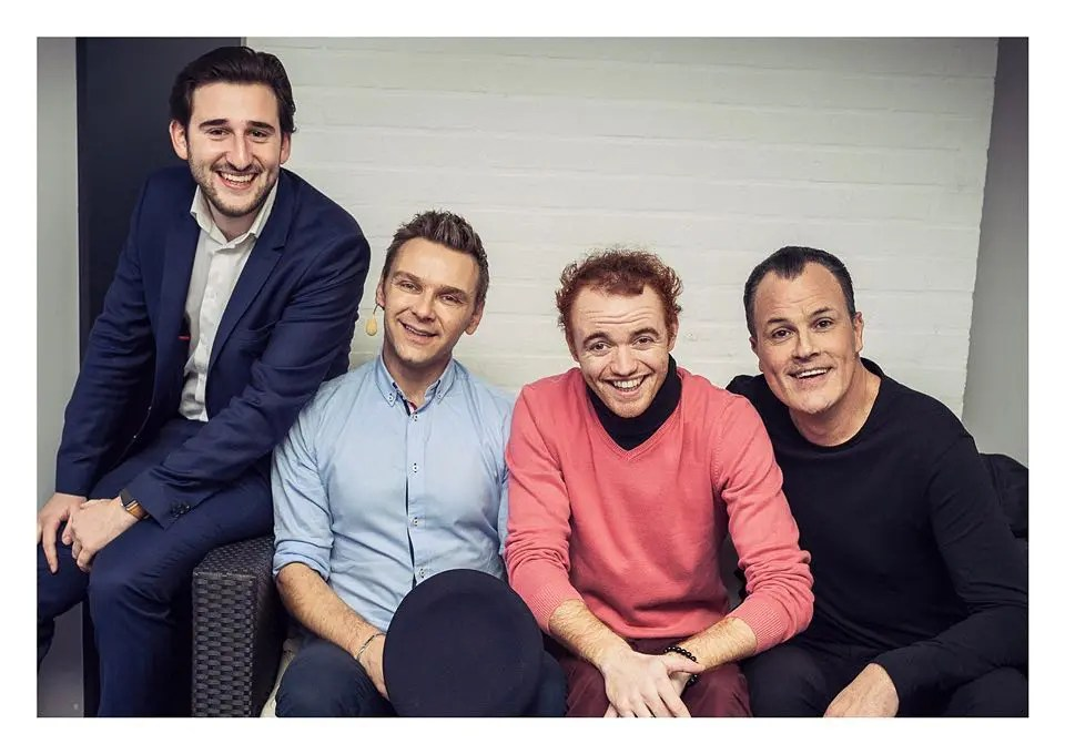 Jovany, JeanFi, Jeremy Cirot et Tom Le Magicien - Chti'day