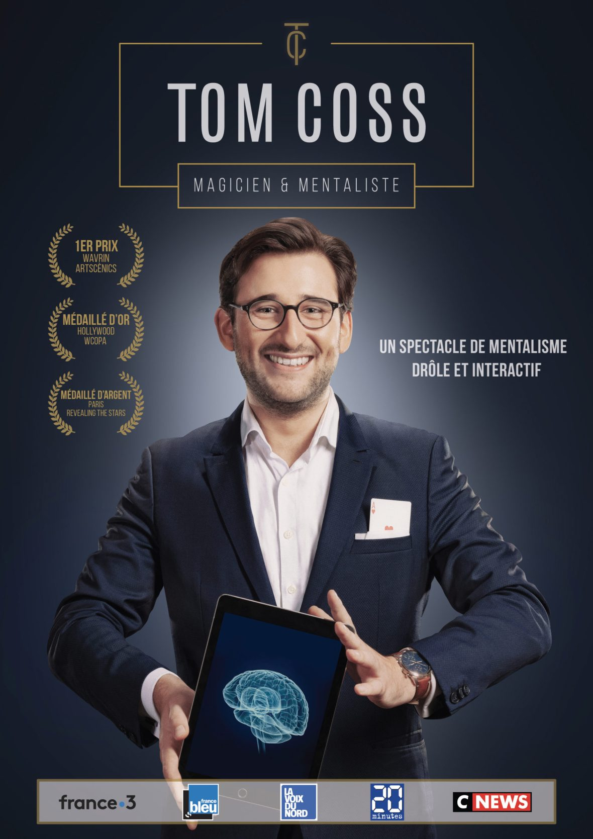 Magicien Lille Spectacle Tom Coss