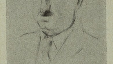 Photo of Matisse's Sketch of John Dewey