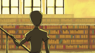 Photo of The Boy Who Lived in a Library