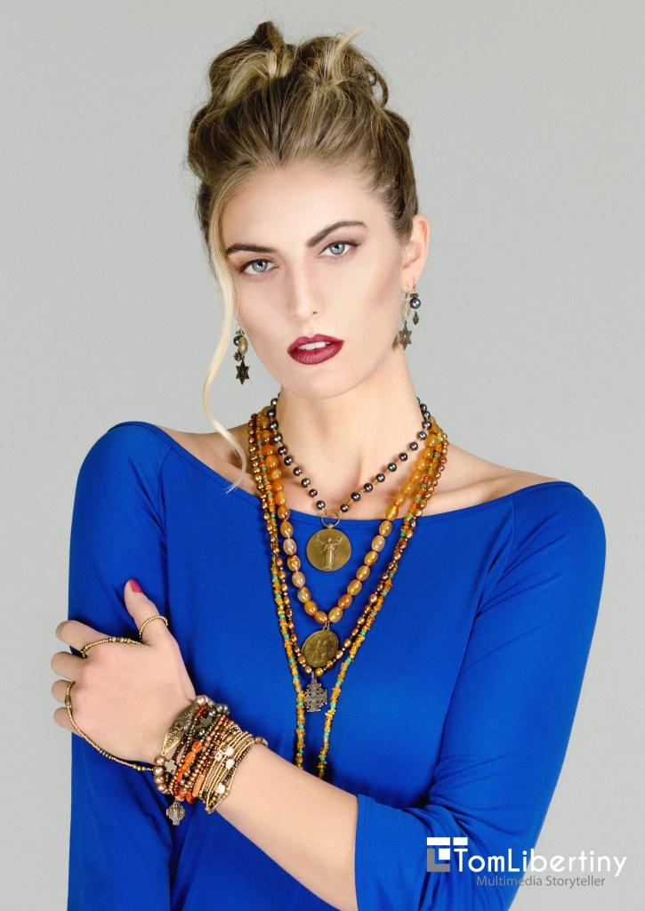 Cool Religious Jewelry Photography & Lighting | Tom Libertiny Model | Shelbie Kramer Costume | AJ Martina Hair & MUA | Brandie Brancheau