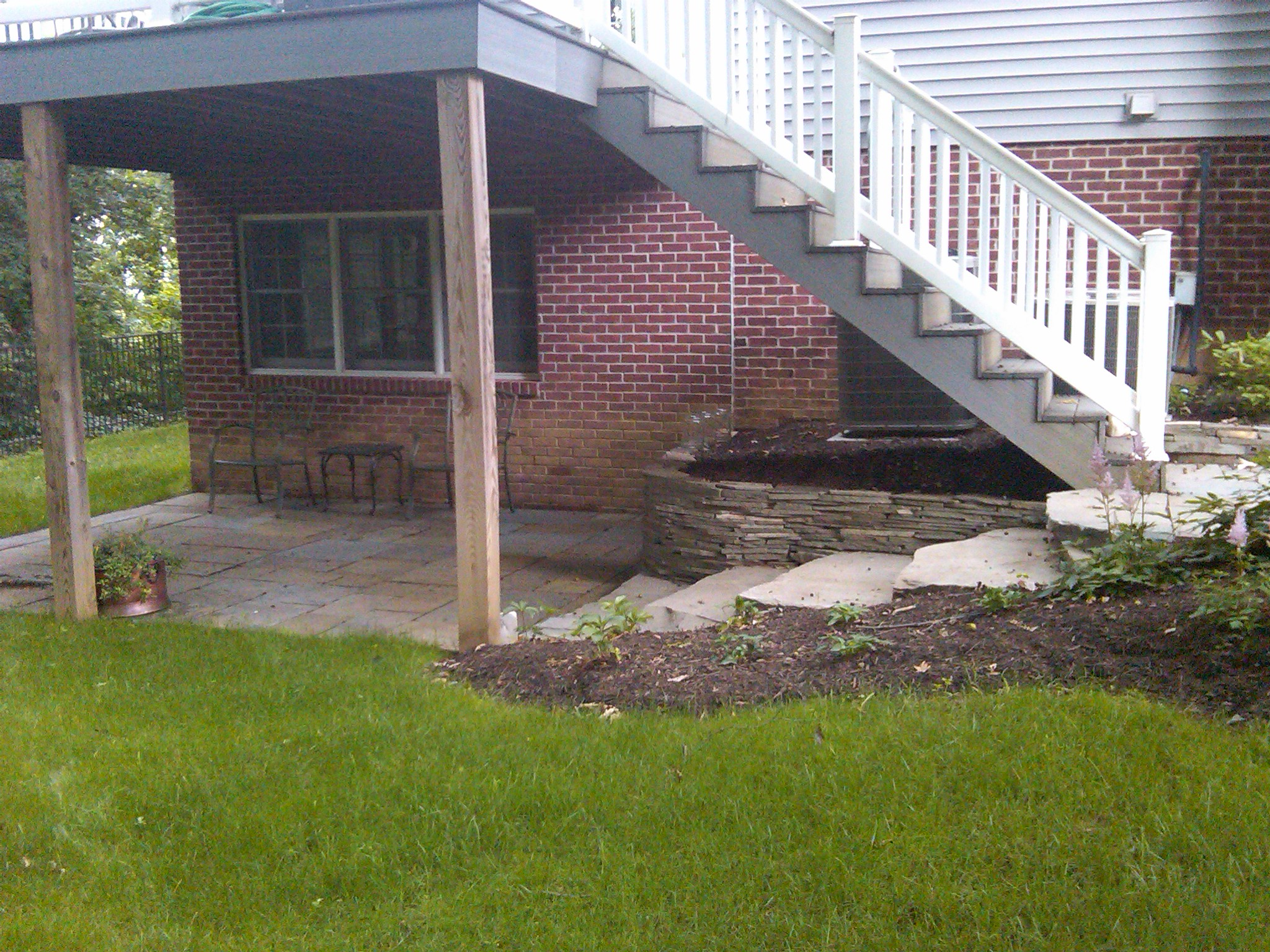 Using the Area Under Your Deck   Tomlinson Bomberger on Under Deck Patio Ideas id=15883