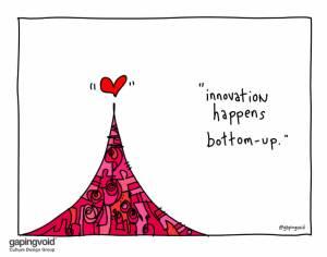 innovation happens bottom up