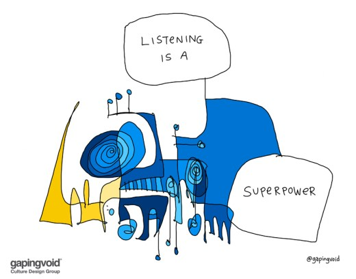 gaping void listening superpower
