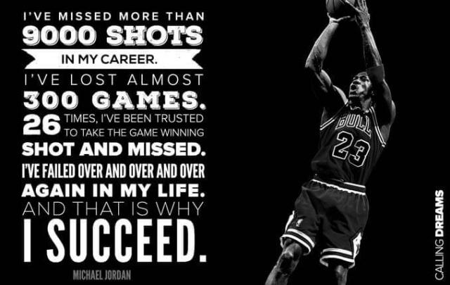 Image result for how many times did Michael Jordan fail