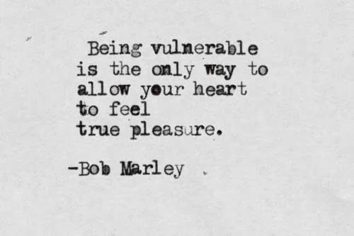 being vulnerable bob marley
