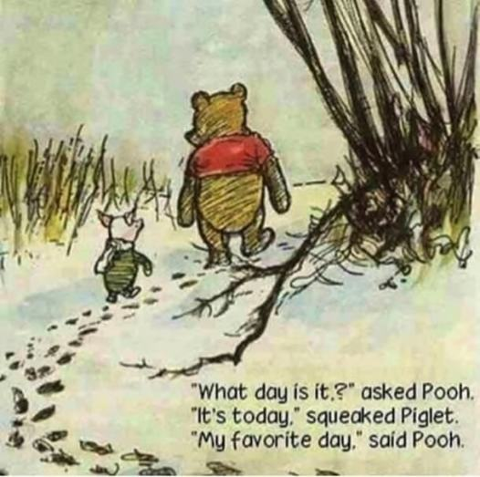 Today pooh