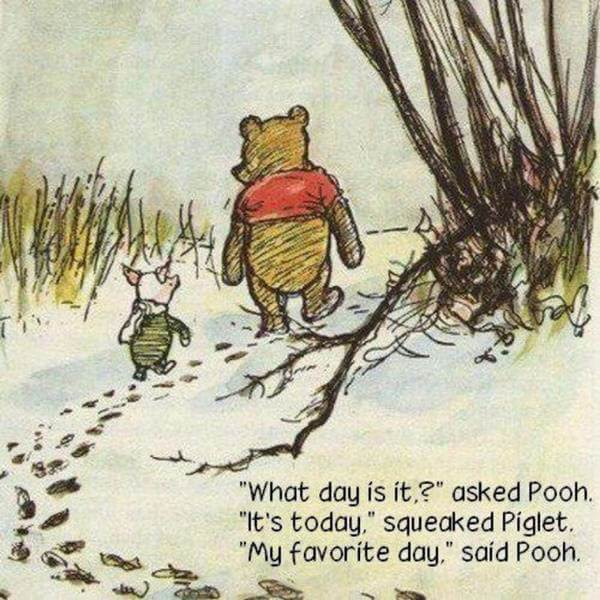 Winnie the Pooh - Favorite Day - Do Nothing