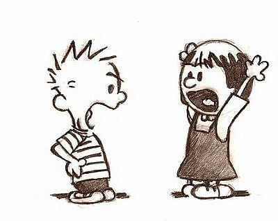 calvin yelling productive disagreements
