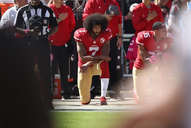 """Taking a knee and """"I didn't know"""""""