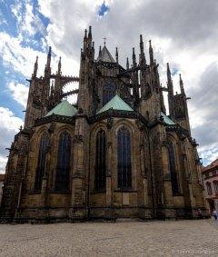 St. Vitus Cathedral behind