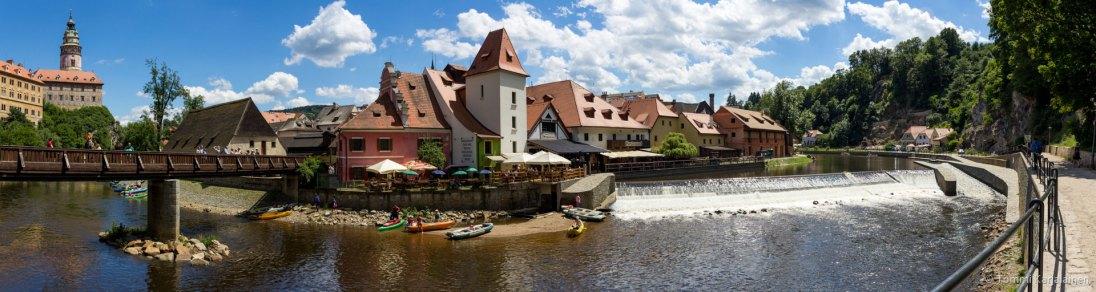 Český Krumlov panorama
