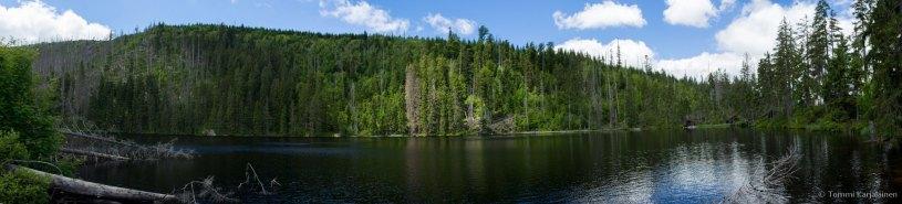 Prášilské Lake panorama