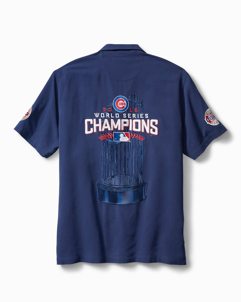 MLB Chicago Cubs 2016 World Series Champions Camp Shirt