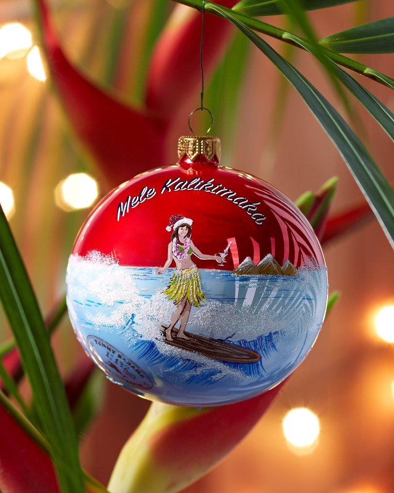 Mele Kalikimaka Ball Ornament
