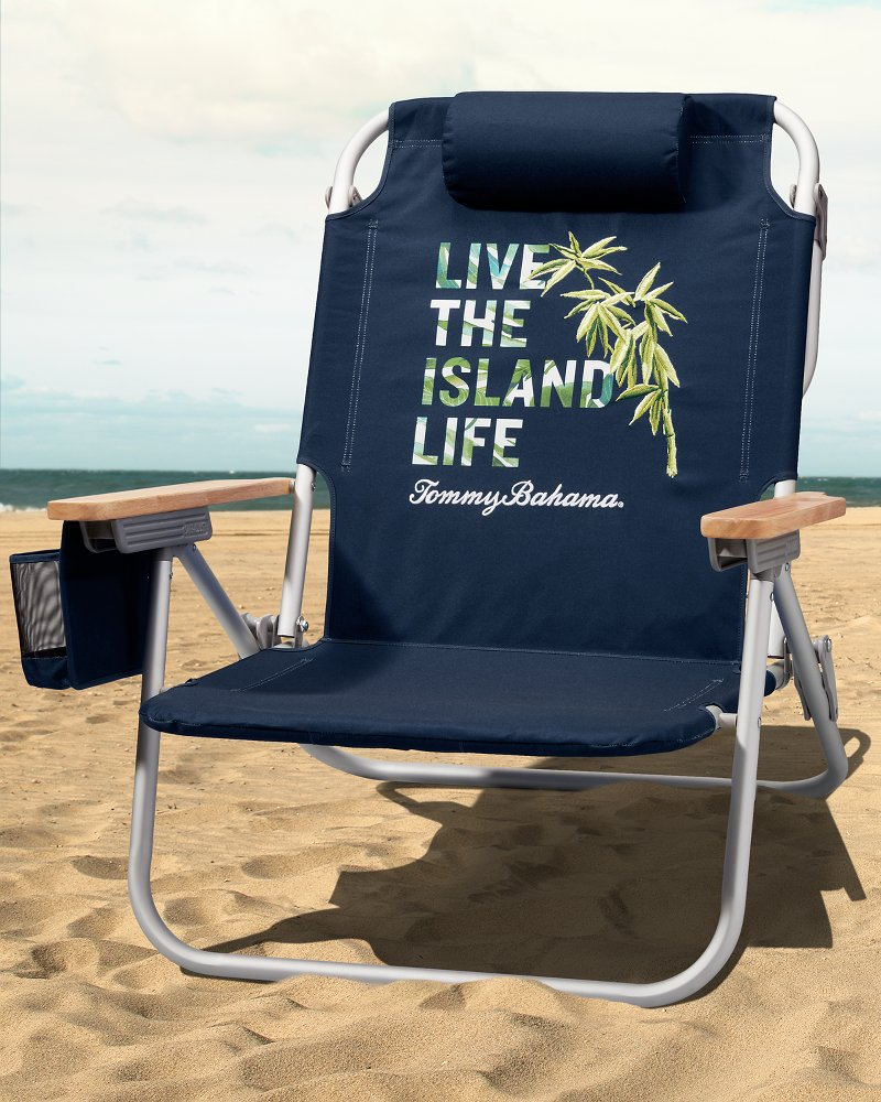 Live The Island Life Deluxe Backpack Beach Chair