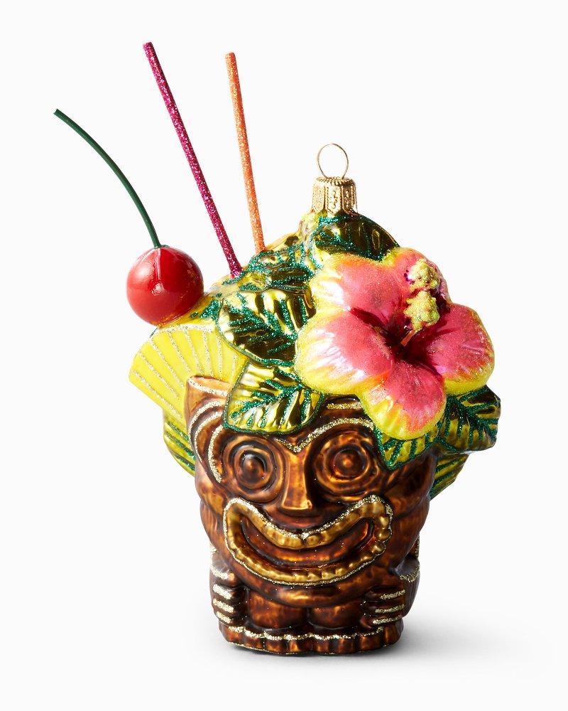 Tiki Cocktail Ornament
