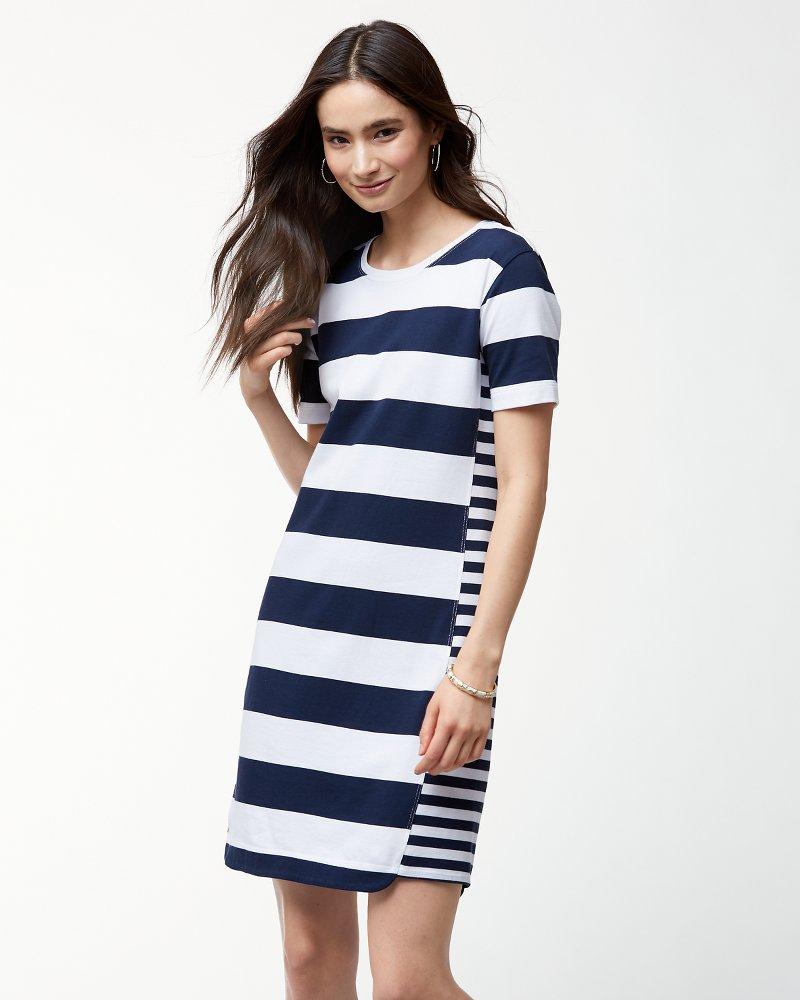 Thera Stripe T Shirt Dress
