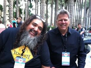 Aug 3, 2013 - Tommy Edison and Double Rainbow Guy Bear Vasquez