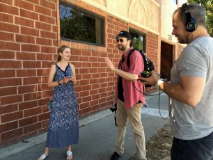 """July 16, 2016 - Ben Churchill directs """"How Pokemon Go Affects Blind People"""""""